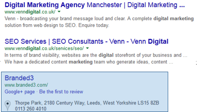 Digital Marketing Agencies search listings