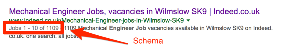 job schema in use